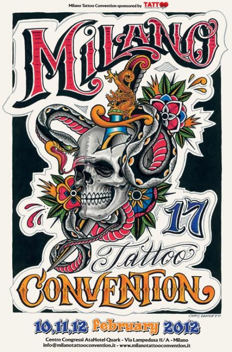 Milano tattoo convention 2012
